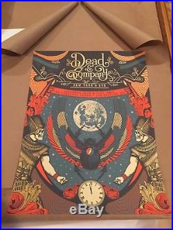 Dead & Company Poster Print Status Serigraph Justin Helton Forum Los Angeles
