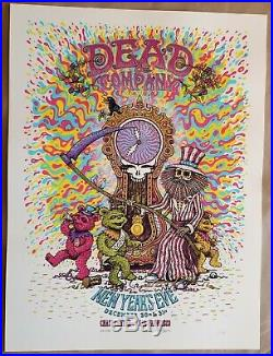 Dead & Company San Francisco Chase Center NYE 12-30/31 2019/20 Poster #461 / 750