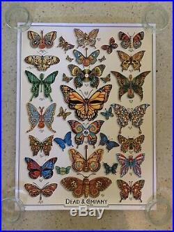 Dead & Company Summer Tour 2019 Butterflies VIP Show Poster