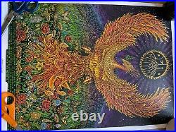Dead & Company VIP concert poster from Hartford show signed and numbered by EMEK