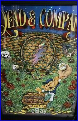 Dead & Company Wrigley Field 2019 Official Poster Mike Dubois and AJ Masthay