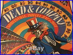 Dead and Co. 6 Noblesville -6-18 Mint Sold Out Signed & Numbered