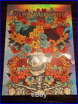 Dead and Co Company Vogl 2018 Summer Tour FOIL poster S/N #1 of 27 RARE nt Emek