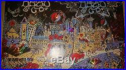 Dead and Co Las Vegas UNCUT Foil poster Mint 11/27-28/2015