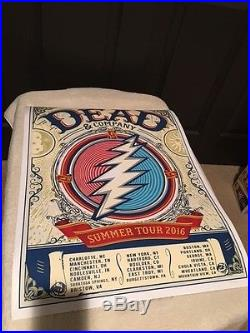 Dead and Company 2016 Summer Tour Poster Limited Edition 1745/7000