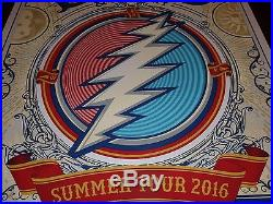 Dead and Company 2016 Summer Tour Poster, limited edition numbered