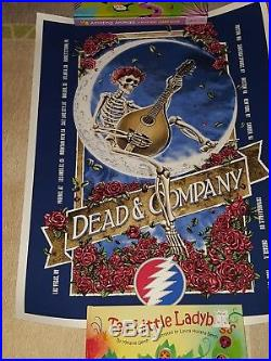 Dead and Company 2017 Summer Tour Poster #2170/3100