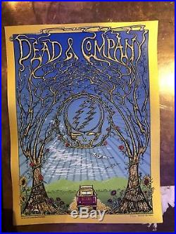Dead and Company 2018 Lockn Poster. Mike Dubois FOIL