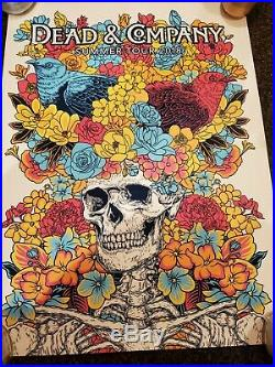 Dead and Company 2018 Summer Tour VIP Poster #/8000 Signed John Vogl