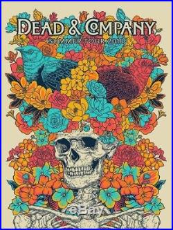 Dead and Company 2018 vip summer tour poster mint condition