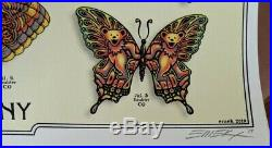 Dead and Company 2019 Summer Tour VIP Butterfly Poster