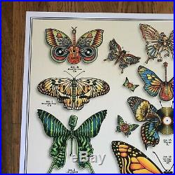 Dead and Company 2019 poster EMEK Butterflies