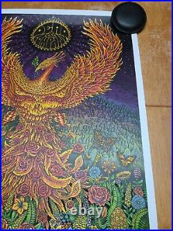 Dead and Company 2021 Tour VIP Poster signed & hand #d by EMEK