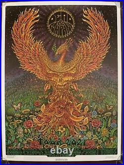 Dead and Company 2021 Tour VIP Poster signed & hand #d by EMEK 9/3 #1920