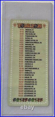 Dead and Company 2021 VIP Poster Signed Emek #810 & Commemorative VIP Ticket