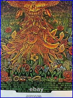 Dead and Company 2021 VIP Poster Signed & Numbered by EMEK