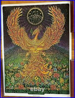Dead and Company 2021 VIP Silkscreen Poster Signed & Numbered by EMEK