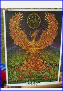 Dead and Company 2021 VIP silkscreen poster by emek. Free shipping