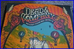 Dead and Company Artist Edition Poster Set Boulder, CO July 13th & 14th 2018