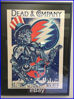 Dead and Company Boston 2015 Limited Edition Poster