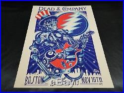 Dead and Company Boston 2015 Limited Edition Show Poster Grateful Dead Numbered