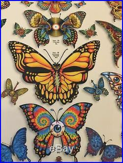 Dead and Company Butterflies VIP Poster EMEK