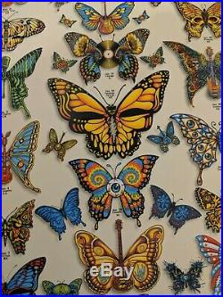 Dead and Company Butterfly Poster 2019 VIP Signed by Artist