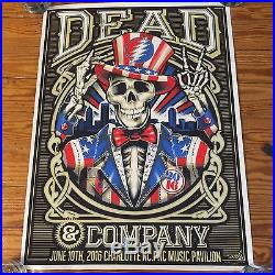 Dead and Company Charlotte NC Poster