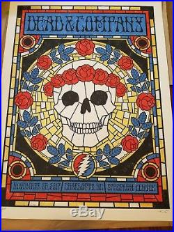 Dead and Company Charlotte Poster Print SN