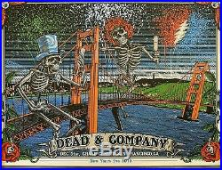 Dead and Company Chase Center San Francisco 2019 VIP Poster NEW YEARS EVE RARE