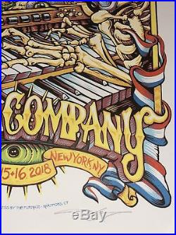 Dead and Company Citi Field 6/15-6/18 Poster by AJ Masthay EPIC NIGHT 2