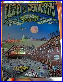 Dead and Company Citi Field June 23 2019 Poster Mike Dubois Foil