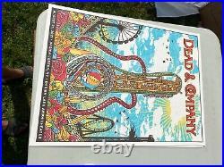 Dead and Company Darien Lake poster screen print Buffalo NY 8/25/2021