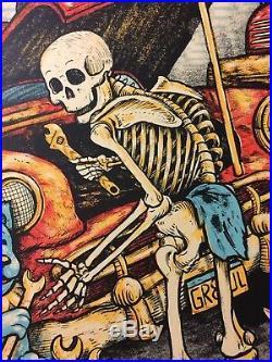 Dead and Company Detroit, MI 11/24/2017 Zeb Love Poster Print Grateful Mint
