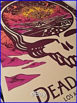 Dead and & Company Dodger Los Angeles LA 2018 Print Poster SE #/330 grateful