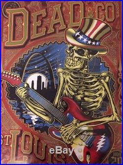 Dead and Company (Grateful Dead) Saint Louis Poster