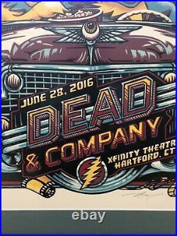 Dead and Company Hartford (June 28, 2016) Framed Poster