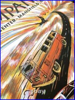 Dead and Company Mansfield Poster Zeb Love Xfinity Center 2021 AP #/85 MA
