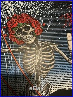 Dead and Company NEW YEARS EVE Chase Ctr San Francisco 2019 VIP Poster Numbered
