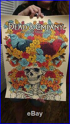 Dead and Company Overall Summer Tour VIP Poster 2018