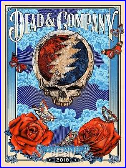 Dead and Company Poster 6/4/18 RIVERBEND, Cincinnati, OH Limited