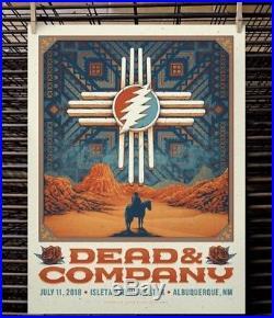 Dead and & Company Poster Albuquerque Isleta Amp 2018 AP xx/50 MINT IN HAND