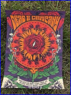 Dead and & Company Poster Alpine Valley East Troy 6/22 6/23/18 June 22 23 2018 +