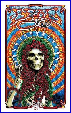 Dead and Company Poster Burgettstown, PA July 13,2016 Adam Pobiak Pittsburgh