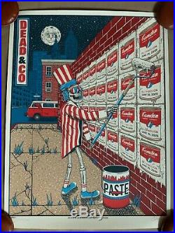 Dead and & Company Poster Camden New Jersey X/700 2019