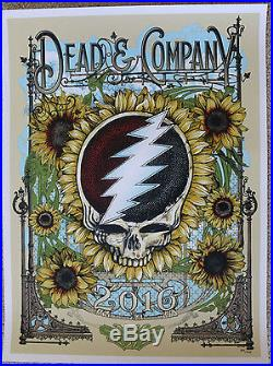 Dead and Company Poster Chula Vista, CA July 27, 2016