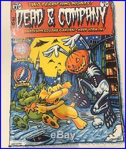 Dead and Company Poster Combo CLASSIC HALLOWEEN & Nassau Coliseum New York