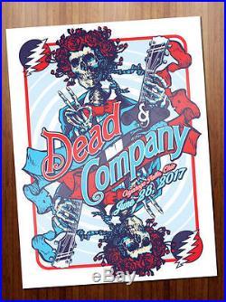 Dead and Company Poster June 28, 2017 Cuyahoga Falls Blossom ARTIST
