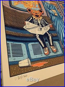 Dead and Company Poster MSG NYC 10/31/2019 show edition MINT