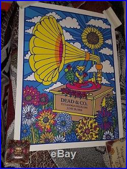 Dead and Company Show Poster 6/20/18 limited #. Blossom Music Center